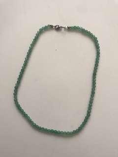 Aventurine necklace - green