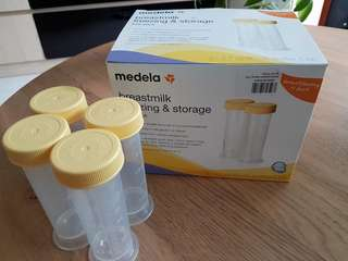 Medela Breastmilk freezing &storage