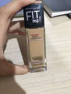 Foundation maybellin fit me