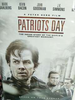 Patriots day movie DVD