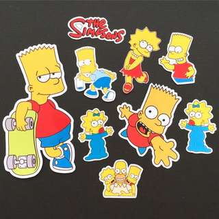 Stiker The Simpsons