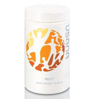 Poly C (120 Tablets) - 矿物维生素C