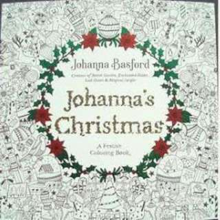 Johanna chrismast coloring book