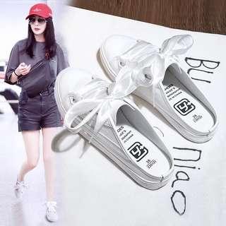 Women's loafers / sneakers half pad