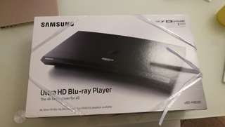 SAMSUNG Ultra HD 4K blue-ray player - New.