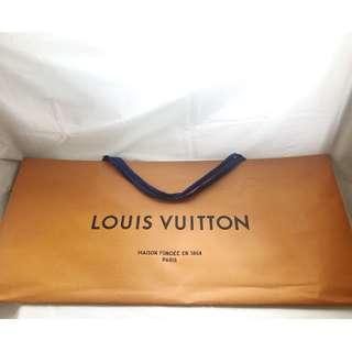 Louis Vuitton LV long & big size shopping bag 罕見長身購物紙袋