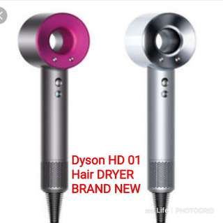 Brand New Dyson Hairdryer Brand New with Warranty..