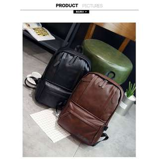 Tas Ransel Kulit Premium Import Bahan High quality