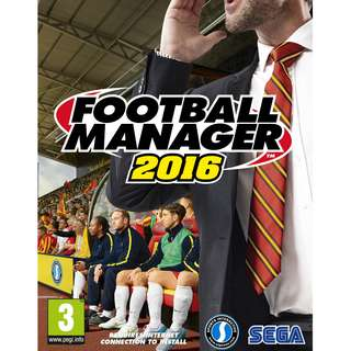 Football Manager 2016 Offline with DVD (PC)