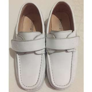 Florsheim white shoes