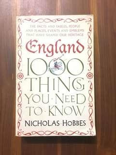 ENGLAND by Nicholas Hobbes