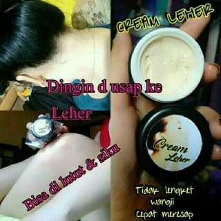 Cream leher