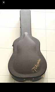 WTS TAKAMINE CASE WITH FREE GUITAR