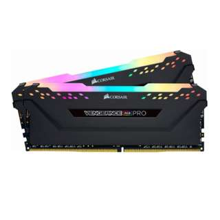 Corsair VENGEANCE RGB PRO 16GB (2 x 8GB) DDR4 DRAM 3200MHz C16 Memory Kit Black or White