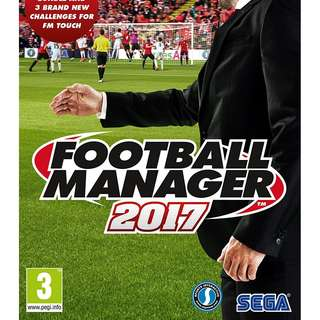 Football Manager 2017 Offline with DVD (PC)