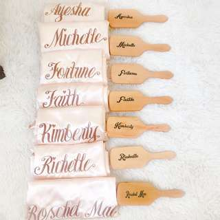 Personalized Big Paddle Brush