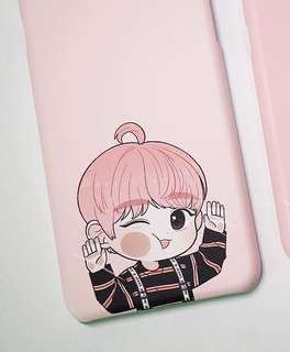 Phone Case:: Wanna One Park Jihoon Korean Fanmade Phone Case (iPhone 8+)