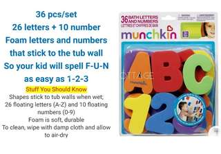 Kids baby alphabet bathing toy