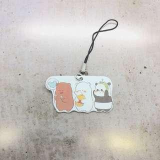 We Bare Bears X Disney keychain