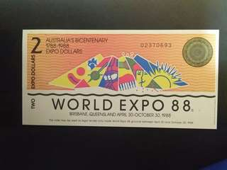 World Expo 88 (2 Expo Dollars)