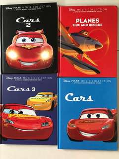 Mcqueen Cars Storybook (Selling 4 books)