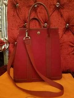 Hermes Garden party file vintage bag Authentic真品
