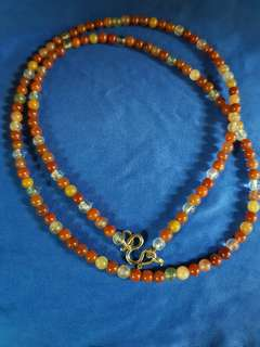 Real Stone Necklace - Single Hook
