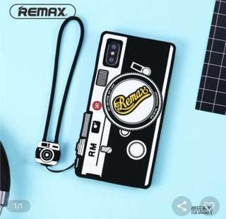 Remax Cool Play Series 3D Silicone Mobile Cover fro Iphone X with Lanyard