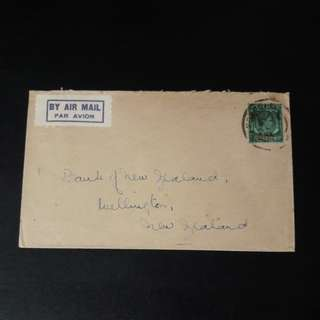 1945 KG VI stamp with B.M.A ()50cts