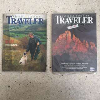 National Geographic Traveler Magazines