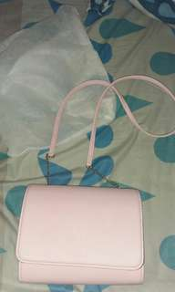 Clutch HnM baby pink