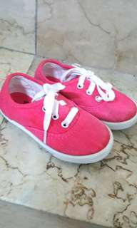 Faded glory pink shoes