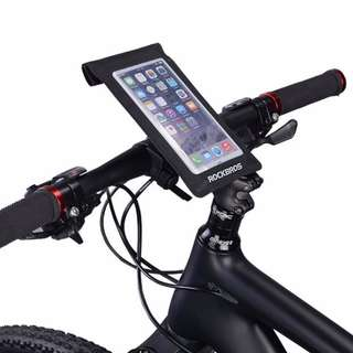 Bicycle Handlebar Bag for Cell Phone Pouch for Cycling Diving Rafting