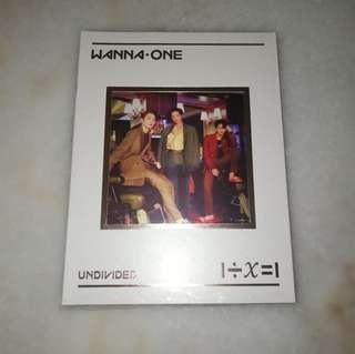 Wanna One Undivided No.1 Version