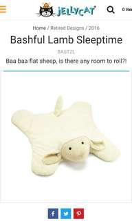 Jellycat Bashful Lamb Sleeptime
