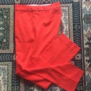 H&M Orange Pants