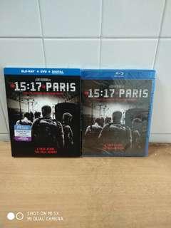 The 15:17 To Paris - Blu Ray & DVD - US Import (original) - Brand New