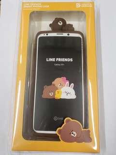 Line Samsung S9 Plus 保護套及玻璃貼