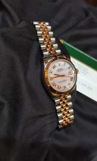 Rolex Datejust Rose Gold