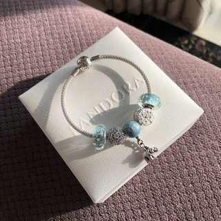 Pandora手鏈 潘多拉潘朵拉首飾禮物925銀 有齊包裝