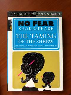 Spark Notes No Fear Shakespeare The Taming is the Shrew