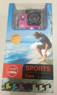 🚚 1080p sport camera