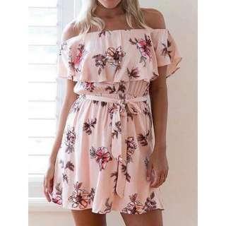 Offs Printed Dress