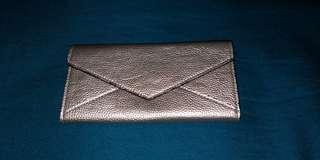 Long gold wallet