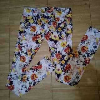 Emoda Floral Pants
