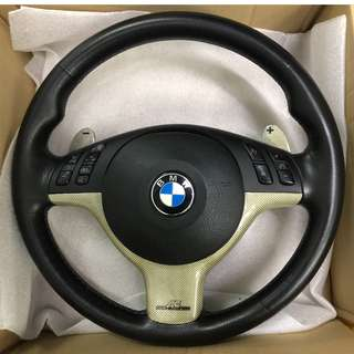 BMW M3 Steering Wheel with Air Bag E46 E39 E53 AC Schnitzer