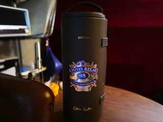 Chivas Regal 18yo 1.75L 芝華士 18年 圓皮盒