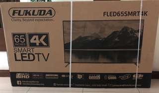 "FUKUDA Brand new 65"" TV"