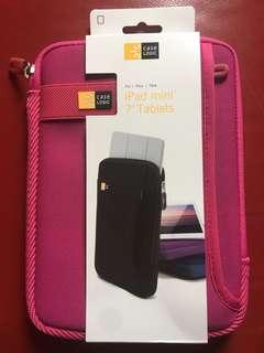 "Case Logic 7"" tablet ipad mini cover 桃紅色"