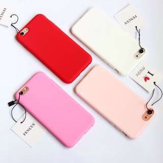 SOFT TPU CASE FOR IPHONE 5-7+